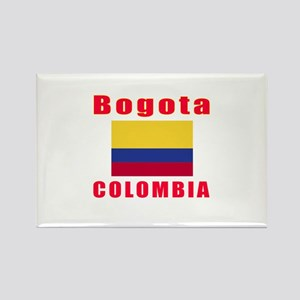 Bogota Colombia Designs Rectangle Magnet