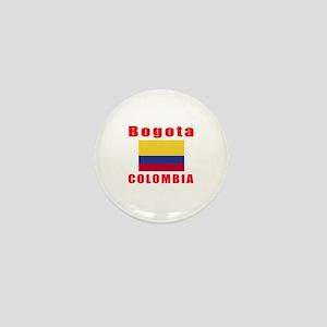 Bogota Colombia Designs Mini Button