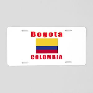 Bogota Colombia Designs Aluminum License Plate