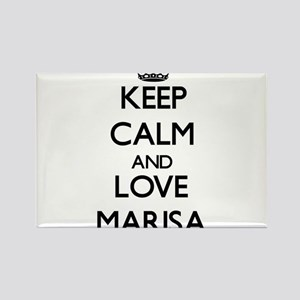 Keep Calm and Love Marisa Magnets