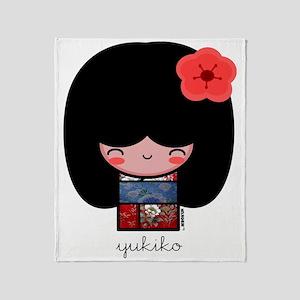 yukiko Throw Blanket