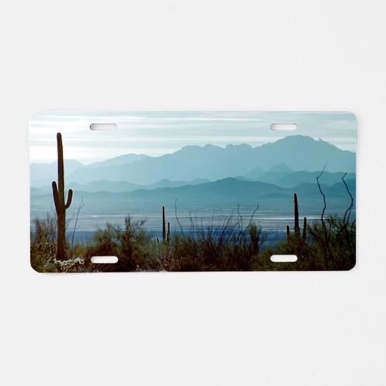Saguaro National Park Aluminum License Plate