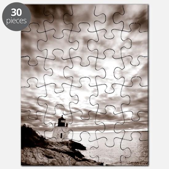 Castle-Hill-Lighthouse Puzzle