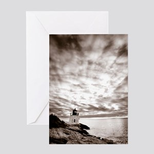 Castle-Hill-Lighthouse Greeting Card
