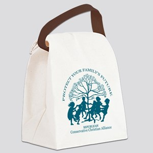 Conservative Christian Alliance Canvas Lunch Bag