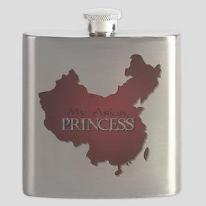My Asian Princess Flask