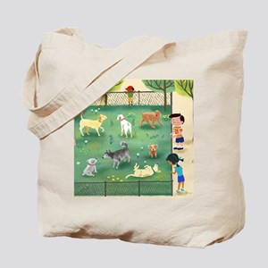 dog_park_calendar Tote Bag