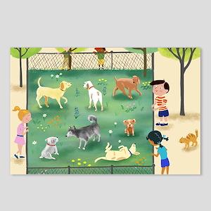 dog_park_calendar Postcards (Package of 8)
