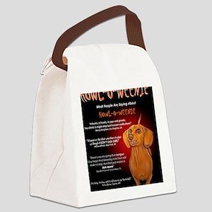 howloweeniecard1 Canvas Lunch Bag