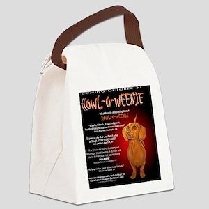 howloweenie10x10 Canvas Lunch Bag