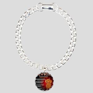 howloweenie10x10 Charm Bracelet, One Charm