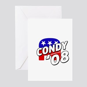 Condy '08 Greeting Cards (Pk of 10)