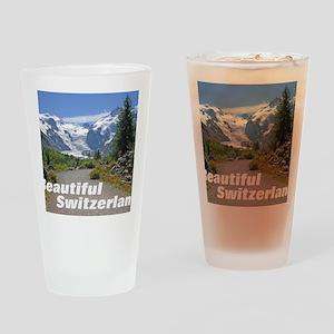 cover switzerland calendar Drinking Glass