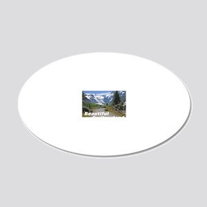 cover switzerland calendar 20x12 Oval Wall Decal