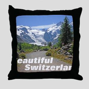 cover switzerland calendar Throw Pillow