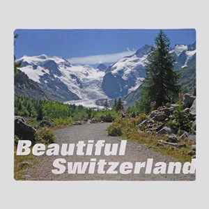 cover switzerland calendar Throw Blanket