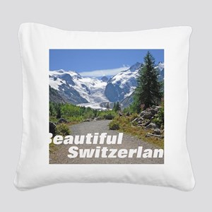 cover switzerland calendar Square Canvas Pillow