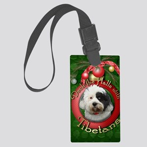DeckHalls_Tibetans Large Luggage Tag