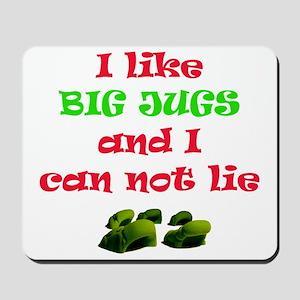 big jugs Mousepad