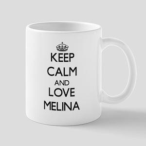 Keep Calm and Love Melina Mugs
