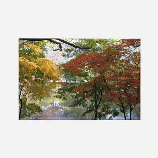 Fall Rectangle Magnet
