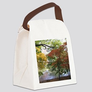 Fall Canvas Lunch Bag