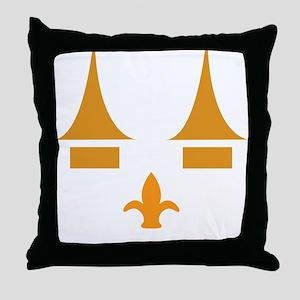 ghoulsville3 Throw Pillow