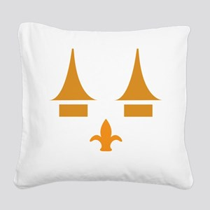 ghoulsville3 Square Canvas Pillow