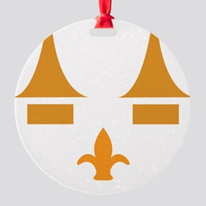 ghoulsville3 Round Ornament