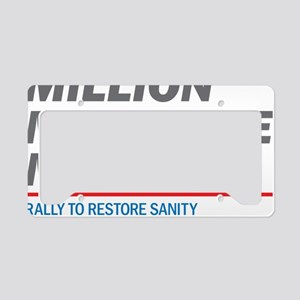 Million Moderate March License Plate Holder