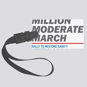 Million Moderate March Large Luggage Tag