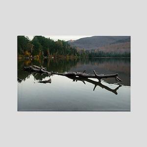 Peak Lake, Adirondacks Rectangle Magnet