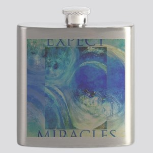 Expect Miracles Art Flask
