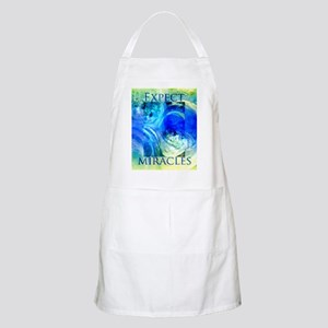 Expect Miracles Art Apron