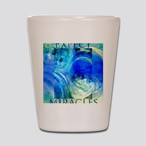 Expect Miracles Art Shot Glass