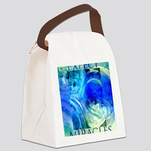 Expect Miracles Art Canvas Lunch Bag