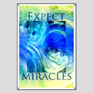 Expect Miracles Art Banner