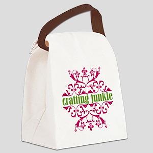 craft junkie Canvas Lunch Bag