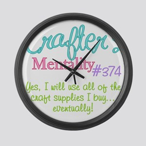 374-craft Large Wall Clock