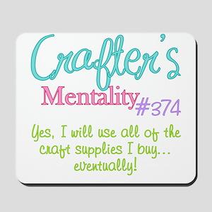 374-craft Mousepad