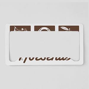 horsenutt License Plate Holder