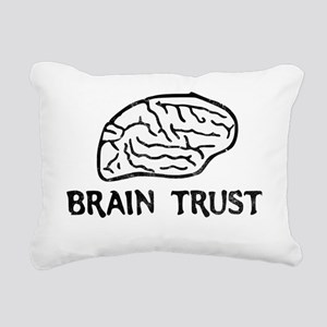 brain trust Rectangular Canvas Pillow