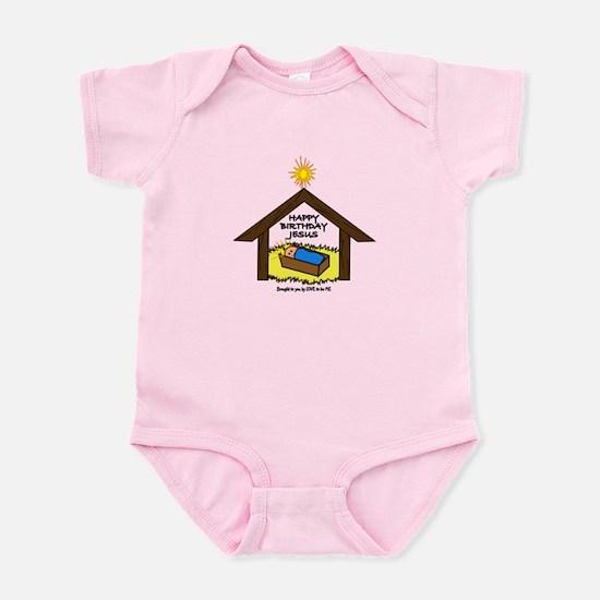BABY JESUS IN THE MANGER Infant Bodysuit