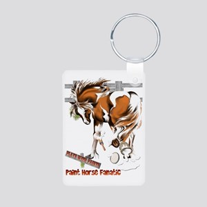 Plays With Paints Trans Aluminum Photo Keychain