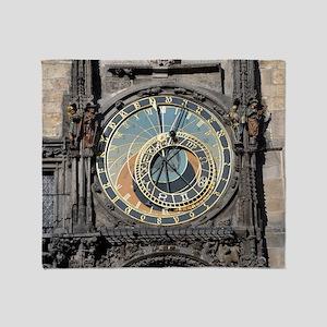 astronomical clock Throw Blanket
