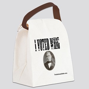 I Voted Whig Canvas Lunch Bag