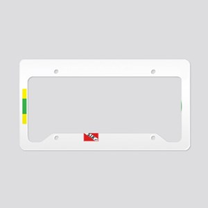 2-Dive-Blended License Plate Holder