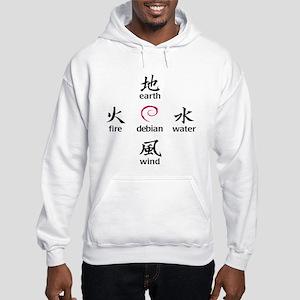 Elements of Debian Hooded Sweatshirt