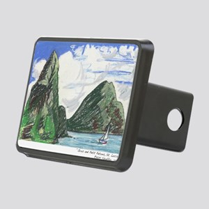 Gros and petit petons st l Rectangular Hitch Cover