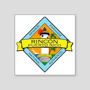 "RinconPRLogo Square Sticker 3"" x 3"""